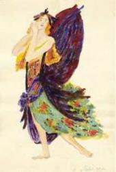А.А. ГОРСКИЙ. Эскиз костюма к балету «Лебединое озеро». П.И. Чайковского. [1912]