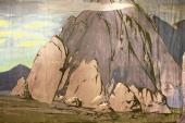 К.А. КОРОВИН. Палатка Шемаханской царицы Оригинальная декорация II действия