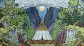 И.Я. БИЛИБИН. Палатка Шемаханской царицы Эскиз декорации II действия к опере в п