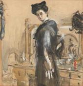 Портрет Г.Л. Гиршман. 1906