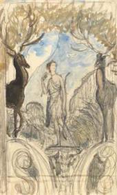 Диана и Актеон. 1911