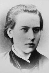 А.С. Голубкина. Фотография. 1882