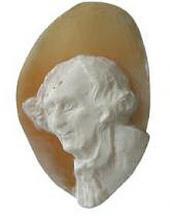 А.С. ГОЛУБКИНА. Портрет Вячеслава Иванова. 1920-е