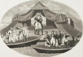 Братья ХЕНШЕЛЬ. Александр I и Наполеон. Примирение на Немане 25 июня 1807 года.