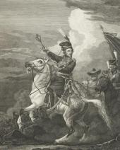 С. КАРДЕЛЛИ. С оригинала А.О. Орловского М.И. Платов. 1813