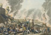 И.Л. РУГЕНДАС. Пожар Москвы 3/15 сентября 1812 года. 1813