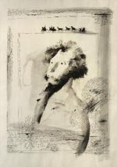 Д.Ф. ТЕРЕХОВ. Портрет А.С. Пушкина. 1989