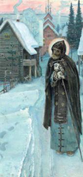 ТРУДЫ ПРЕПОДОБНОГО СЕРГИЯ 1896–1897. Триптих. Правая часть.