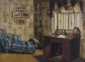 КАБИНЕТ ОТЦА. Конец 1870-х