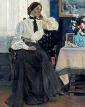 ПОРТРЕТ Е.П. НЕСТЕРОВОЙ. 1905