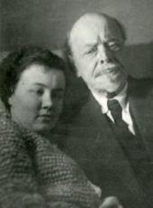 М.В. НЕСТЕРОВ И И.В. ШРЁТЕР. Москва, 1939
