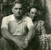 Н.М. НЕСТЕРОВА И Ф.С. БУЛГАКОВ. 1957. Фотография