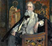 ПОРТРЕТ В.М. ВАСНЕЦОВА. 1925