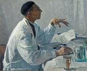 ПОРТРЕТ С.С. ЮДИНА. 1935