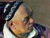 ПОРТРЕТ А.В. ЩУСЕВА. 1941. Фрагмент.