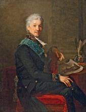ЖАН ЛОРАН МОНЬЕ. ПОРТРЕТ ГРАФА А.С. СТРОГАНОВА. 1804