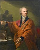ИОГАНН БАТИСТ ЛАМПИ. ПОРТРЕТ ГРАФА А.И. МУСИНА-ПУШКИНА. 1794