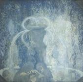 Павел Кузнецов. Голубой фонтан. 1905