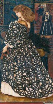 ЭДВАРД БЁРН-ДЖОНС. СИДОНИЯ ФОН БОРК, 1560. 1860