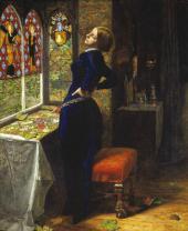 ДЖОН ЭВЕРЕТТ МИЛЛЕС. МАРИАНА. 1850–1851