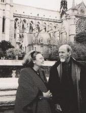 АЛЕКСЕЙ И КАРИНА ШМАРИНОВЫ. Париж. 2000. Фотография