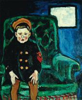 П.П.КОНЧАЛОВСКИЙ. Портрет М.П.Кончаловского в морской форме (в детстве). 1910