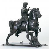 ФИЛАРЕТЕ (АНТОНИО ДИ ПЬЕТРО АВЕРУЛИНО. Oк. 1400-1469). МАРК АВРЕЛИЙ. Oк. 1440–14