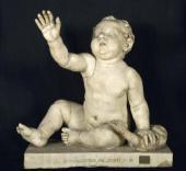 ПУТТО (ОБНАЖЕННЫЙ МАЛЬЧИК) С ГУСЕМ, середина 1 века н.э.
