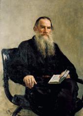 И.E. РЕПИН. Портрет Л.Н.Толстого. 1887