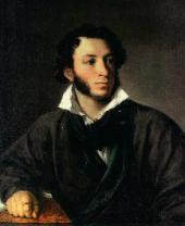 В.А. ТРОПИНИН. Портрет А.С. Пушкина. 1827