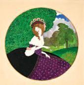 Анна РЕМИЗОВА (псевдоним – Мисс). Дама с цветами. 1913
