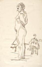 Валентин СЕРОВ. Стоящая натурщица. 1910–1911