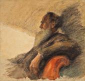 Леонид ПАСТЕРНАК. Портрет Л.Н. Толстого. 1901