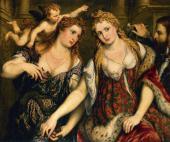 ПАРИС БОРДОНЕ (1500-1571). ВЕНЕРА, ФЛОРА, МАРС И АМУР. 1553–1555