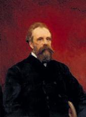 В.А. СЕРОВ. Портрет С.М. Третьякова. 1895