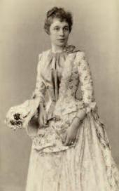 Вера Павловна Зилоти, урожденная Третьякова 1887.