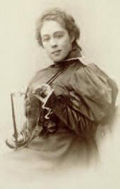 лександра Павловна Боткина, урожденная Третьякова. [1880-e]