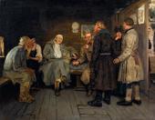 Илья РЕПИН. Рассказ солдата. 1877