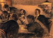 Группа членов Союза русских художников. Повторение картины 1902 г.