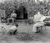 Леонид Осипович и Розалия Исидоровна Пастернаки с сыном Борисом. Одесса. 1896