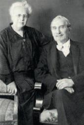 Леонид Осипович и Розалия Исидоровна Пастернаки. Берлин. 1930-е