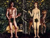 Наталья НЕСТЕРОВА. Адам и Ева. 2007