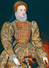 Неизвестный нидерландский художник. Королева Елизавета I. Около 1575