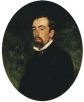 И.Е. РЕПИН. ПОРТРЕТ В.Д. ПОЛЕНОВА. 1877