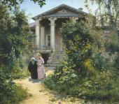 В.Д. ПОЛЕНОВ. БАБУШКИН САД. 1878