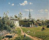 В.Д. ПОЛЕНОВ.  МОСКОВСКИЙ ДВОРИК. 1878