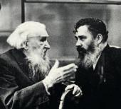А.П. Кибальников и С.Т. Коненков. 1960-е