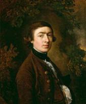 Томас ГЕЙНСБОРО. Автопортрет. Около 1758–1759