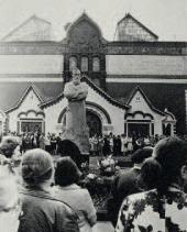Открытие памятника П.М. Третьякова в Москве 1980