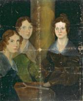 атрик Бренуэлл БРОНТЕ. Сестры Бронте (Энн, Эмилия, Шарлотта Бронте). Около 1834